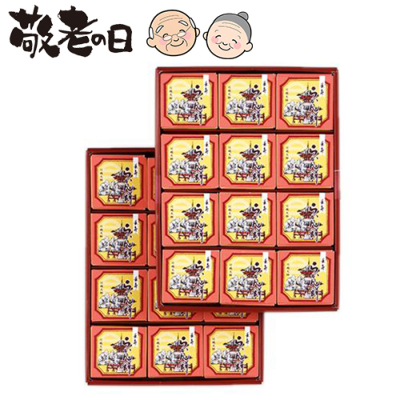長寿らかん餅 24個入(2段)<br>商品内容